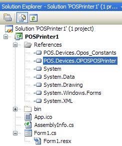 OPOS & Microsoft  NET